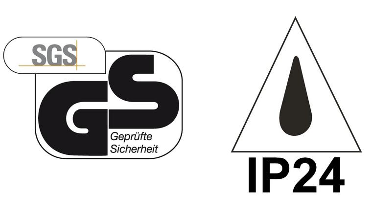Gepruefte Sicherheit und IP24