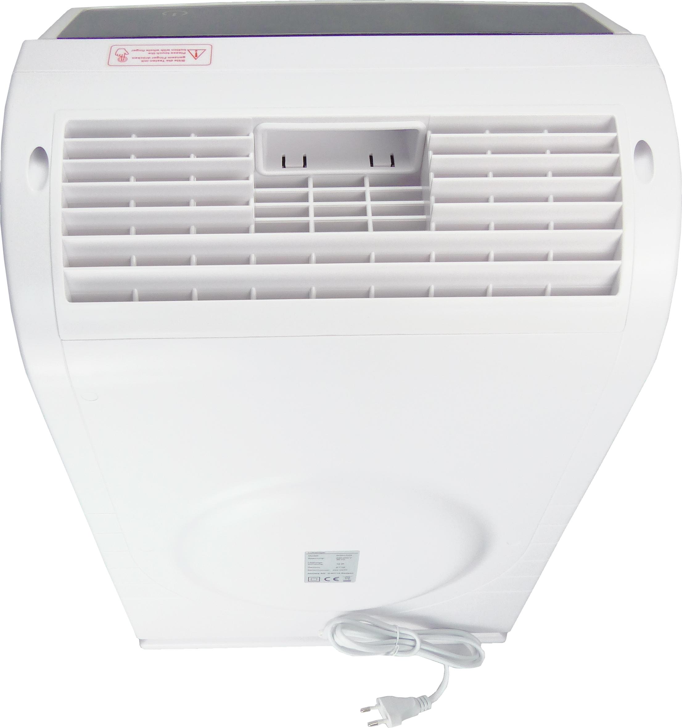 Luftreiniger WDH-C03W hinten