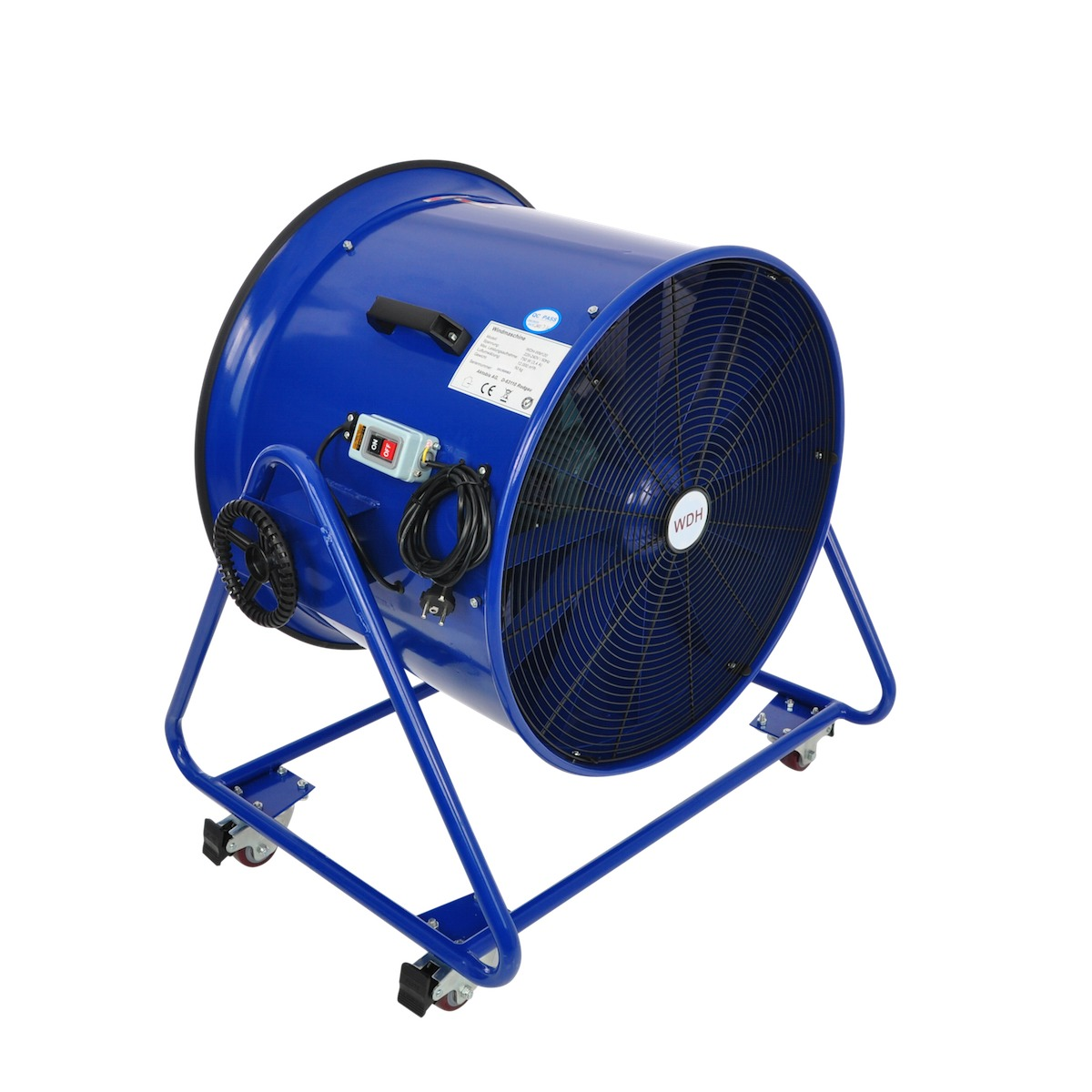 Windmaschine WDH-WM120 blau