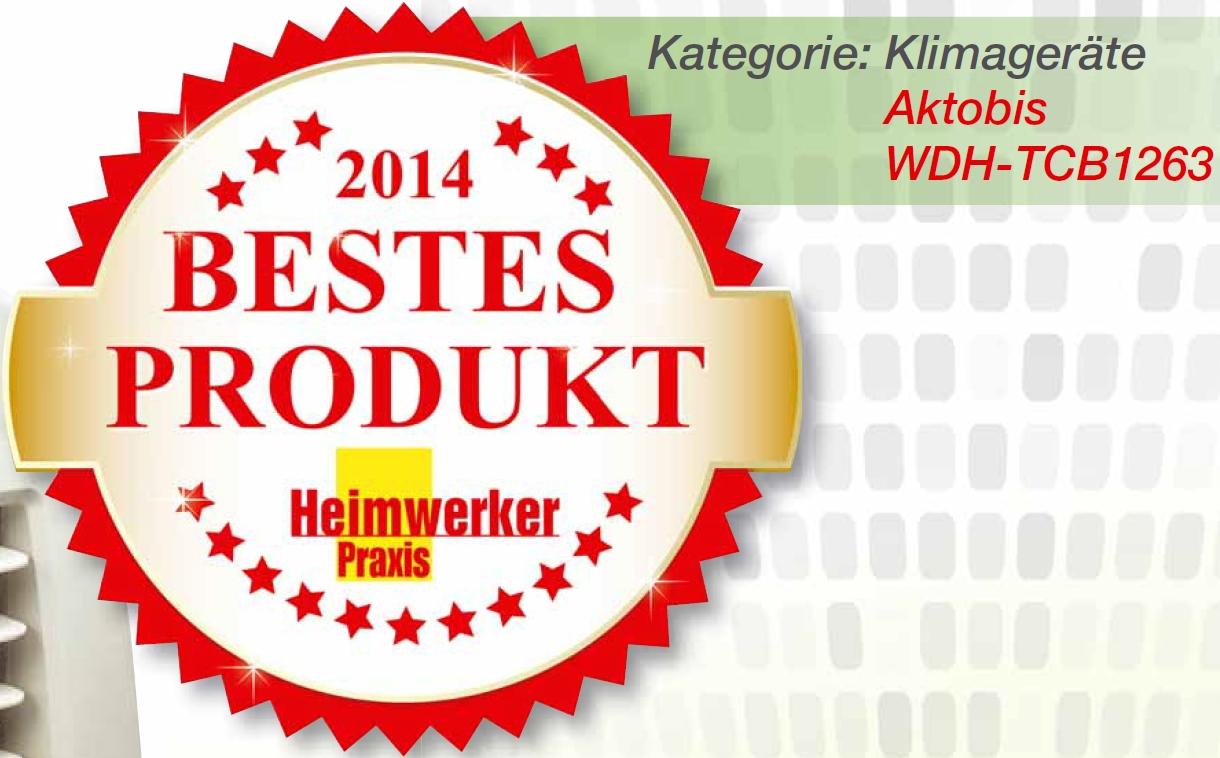 Bestes Produkt 2014 HWP Klimageraete
