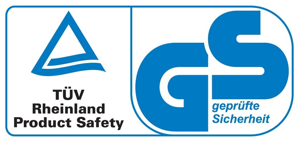 TÜV Rheinland GS geprüfte Sicherheit