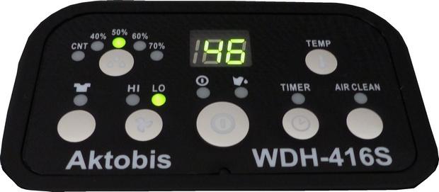 WDH-416S Bedienfeld
