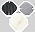Filter pack of 3 filters for WDH-H600A